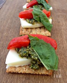 This Triscuit Bruschetta is the PERFECT appetizer! I think it's my all time favorite. It's sooo easy, healthy and delicious!