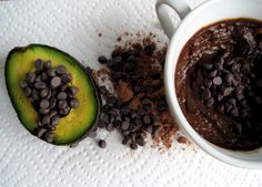 5-Ingredient Avocado Pudding. Great reviews from FB friends.  Hmmm...  maybe try someday.
