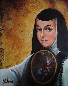 sor juana ines de la cruz, nun, poet & playwright.