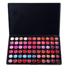 Lipstick/gloss, 66 colors
