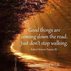 Keep on going!