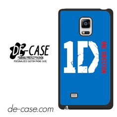 One Direction Blue Logo For Samsung Galaxy Note Edge Case Phone Case Gift Present YO