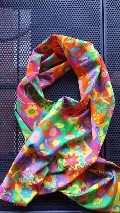 "#Polly""free shape "" #woman #scarf #sciarpa #cotton #fabric"