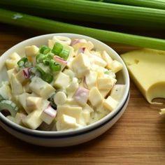 Salad Recipes, Healthy Recipes, Hungarian Recipes, No Cook Meals, Bon Appetit, Feta, Healthy Lifestyle, Food And Drink, Veggies