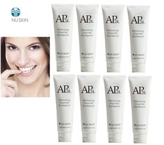 8 TUBES Toothpaste Whitening Fluoride Nu-skin Ap24 Exp2020 FREE SHIP WORLDWIDE #Nuskin