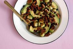 A no fuss Brussel sprout salad that is the reason we buy Brussel sprouts. This recipe is gluten free, vegan and has no sugar added. Sprouts Salad, Brussel Sprout Salad, Cranberry Cheese, Create A Recipe, Dried Cranberries, Sweet And Spicy, What To Cook, Meals For The Week, Us Foods