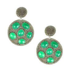 Double Disc Earrings – Andreia Fuzon Jewelry