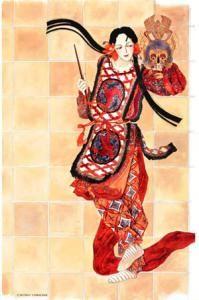 「日出処の天子 」 山岸凉子/ 「アラベスク」と同様、作者の代表的作品。この作品の中の絵は、本当にすごみが出てきていたなあ。