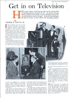 Get in on Television (Jul, 1931) [1/3]