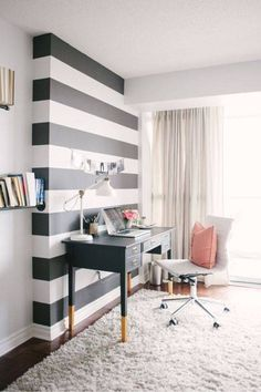 Discover black and white interior design ideas for the bathroom, bedroom, living room, home office and dining room. Be inspired by these monochrome designs to use a black and white pattern in your home. For more color palette ideas go to Domino.