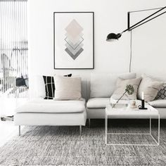 Modern Small Apartment Design, Small House Interior Design, Small House Decorating, Interior Designing, House Design, Decorating Ideas, Home Living Room, Living Room Designs, Living Room Decor