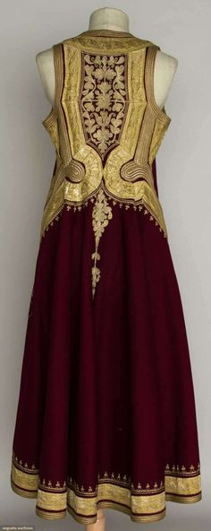 Regional Woman's Coat, Albania, C. 1900, Augusta Auctions, November 13, 2013 - NYC, Lot 410