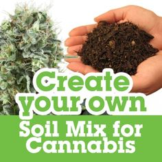 Creëer je eigen grondmengsel voor cannabis