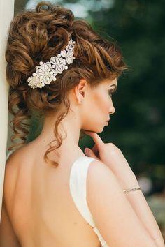 Wedding Hairstyle -via El Style