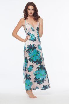 5b835ec9da30d Cameron Floral Slip Dress Bowie, Silk Slip, Floral Maxi, Pink, Floral  Prints. DEAR BOWIE