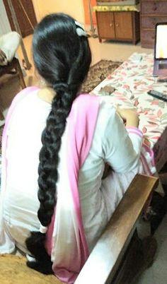 Braids For Long Hair, Braided Hairstyles, Indian, Long Hair Styles, Beauty, Long Hairstyle, Braid Hair, Long Haircuts, Braided Hair