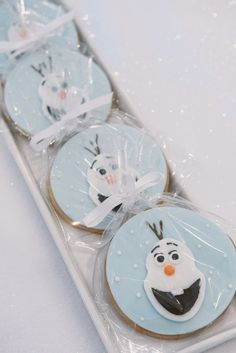 Delicious Olaf Cookies Frozen Themed Birthday Party, Birthday Party Themes, Olaf Cookies, Kids, Pastries, Toddlers, Boys, Kid, Children