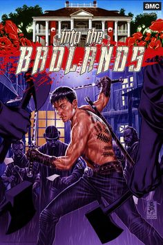 """Full digital issue of Into the Badlands """"Piercing through Stone"""" """"Pole of an Falling Star"""" Best Tv Shows, Best Shows Ever, Amc Networks, Into The Badlands, Martial Arts Movies, Series Premiere, Two Broke Girl, Tv Times, Classic Films"""