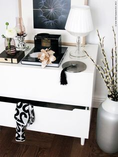 SVEIO stores all your darlings Ikea Closet, Black And White Interior, Ikea Storage, Dream Decor, Beautiful Bedrooms, Home Decor Styles, Interior Inspiration, Sweet Home, House Styles