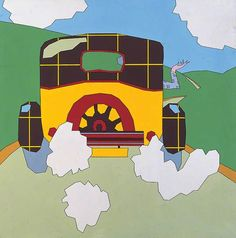 Landscape with a Car