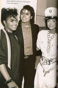 michael, latoya and janet jackson