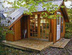 Дорогая я уменьшил в дом: крошечный домов Ллойд Кан