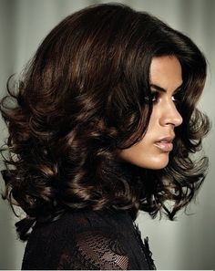 Gorgeous Hair-deep, rich brown color!