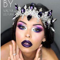 Eyeshadow Makeup, Makeup Art, Beauty Makeup, Exotic Makeup, Scene Makeup, Glam Makeup Look, Makeup Lips, Halloween Makeup Looks, Halloween Make Up