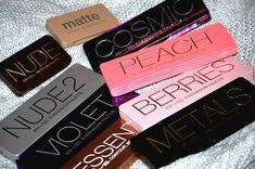 #BysMaquillage Retour sur les palettes Nude 2, Berries, Peach, Essentials, Violet, Metals, Cosmic et On-the-go Matte et Nude