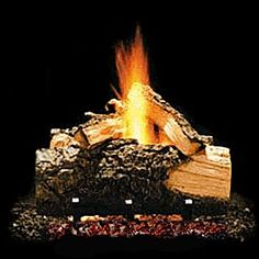 Hargrove Western Pine Loose Logs Available at Warm Solutions, 431 Grand Avenue, South San Francisco, CA Ventless Gas Logs, Gas Fireplace Logs, Gas Fireplaces, Hand Painted Highlights, Expanded Metal Mesh, Outdoor Heaters, Outdoor Dining, Outdoor Decor, Tear