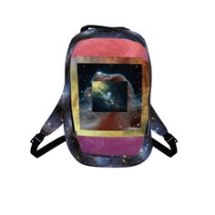#WarpSpeed by #FlowersForAldrin, #Space, #Galaxy, #Stars, #collage, #alloverprint, #backpack, #CitrusReport