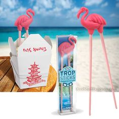 Tropsticks Flamingo Chopsticks