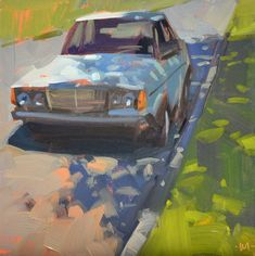 Carol Marine's Painting a Day: A Shady Spot