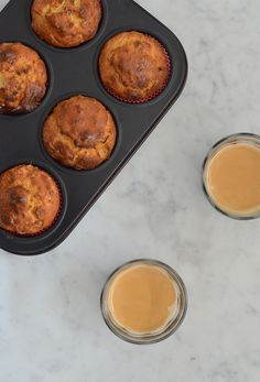 carrot cake muffin zonder suiker