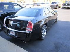 One of Commonwealth Worldwide's new 2012 Chrysler 300 Limited sedans, which get 31 mpg highway.