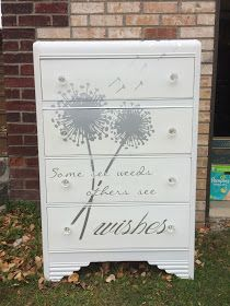 I got a text from my good friend Sarah. She needed a dresser for her daughter. This is the only one I had completed, but she was looking...