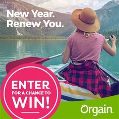 I just entered for a chance to win Orgain's renewal getaway trip for 2 valued at $5,000! You can enter too! It's easy. Follow this link and when you sign up, I get a bonus entry. See official rules. Ends 1/31/18.