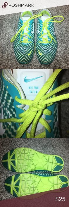 Nike free tr fit 4 Nike Free worn a couple times to the gym. Fair condition . Great running shoes Nike Shoes Sneakers