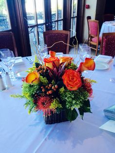 Fall wedding Flowers by Carole NY