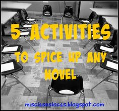 Mis Clases Locas: 5 Activities to spice up any novel