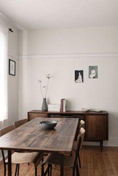 Minimalist Home Living Room Loft minimalist interior design heart.Minimalist Home Kitchen Subway Tiles. Minimalist Dining Room, Minimalist Interior, Minimalist Bedroom, Minimalist Home, Minimalist Design, Minimalist Scandinavian, Dining Room Design, Dining Room Furniture, Furniture Ideas