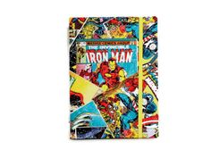 Kindle Hardcover, Kindle Cover made with Marvel fabric, Nook Cover, Kindle Case, Kindle Fire HDX Case, Nexus 7, iPad mini
