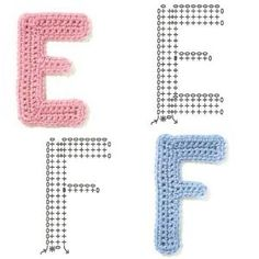 Crochet alphabet chart diagram by ammieiscool