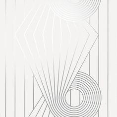 BRADLEY USA │Erica Wakerly Wallcovering │MINISPIRAL WHITE SILVER WALLCOVERING  │ shop.bradley-usa.com for trade pricing #bradleyusa #ericawakerly #chicagointeriordesign #newyorkinteriordesign #atlantainteriordesign
