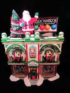 Dept 56 Snow Village ~ Bronner's Christmas Wonderland ~ Mint In Box 06226