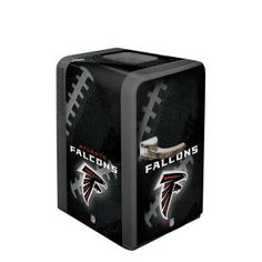 Your Favorite Drink Chilled to Perfection in the Atlanta Falcons Party Fridge!