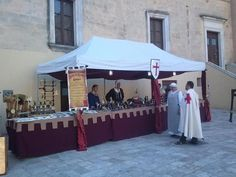 craft booth for Medieval Fair