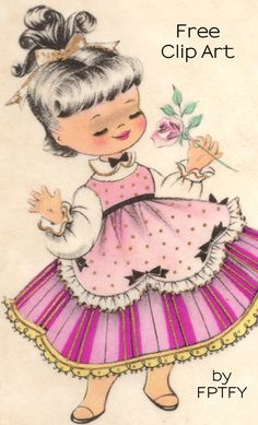 Images: Pretty Girl Clipart - Free Pretty Things For You
