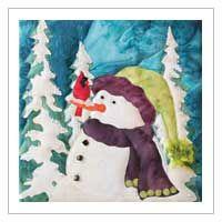 JUST CHILLIN' SNOW BUDS QUILT PATTERN BY MCKENNA RYAN