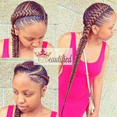 ghana braids, ghana braids with updo, straight up braids, braids hairstyles for black girls, braids Ghana Braids Hairstyles, Braids Hairstyles Pictures, Girl Hairstyles, Braided Hairstyles, Hairstyle Braid, Curly Hair Styles, Natural Hair Styles, Twisted Hair, Natural Hair Braids
